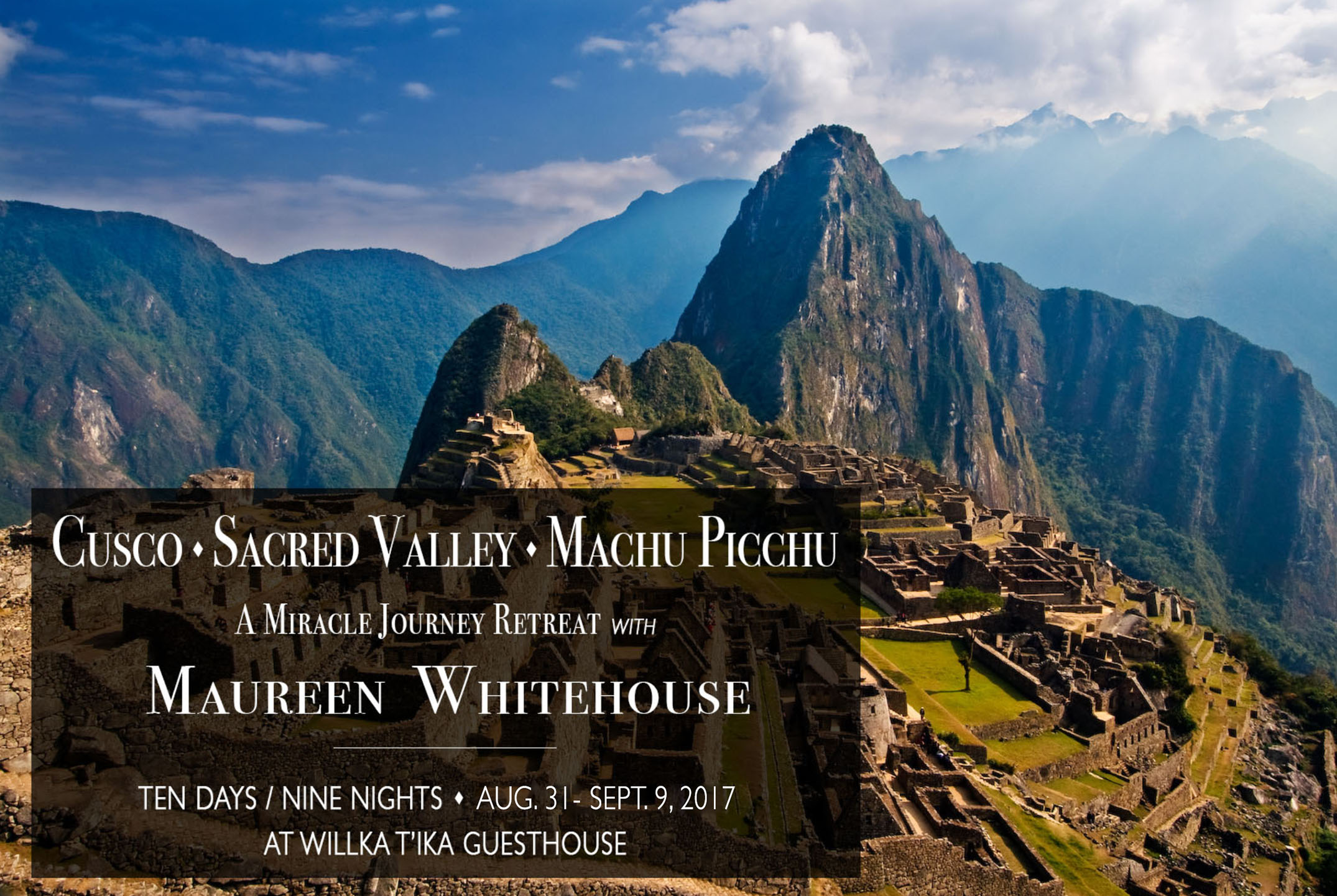 Machu Picchu Miracle Journey